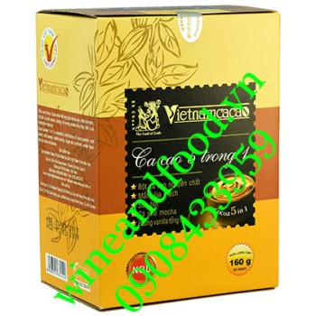 Bột cacao 5 trong 1 Vietnamcacao 160g