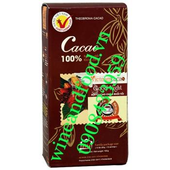 Bột cacao nguyên chất không đường Chào Buổi Tối 150g