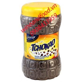 Bột cacao Tchokao Ivoria hũ 800g