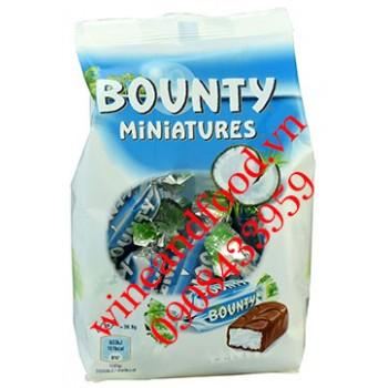 Socola dừa Bounty Miniatures 150g
