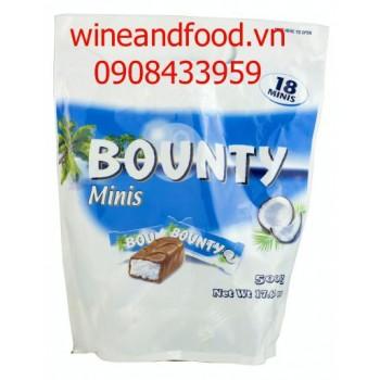 Socola dừa Bounty Minis 500g