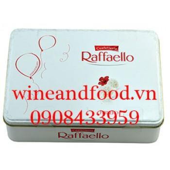 Socola dừa Confetteria Raffaello Ferrero hộp thiếc 300g