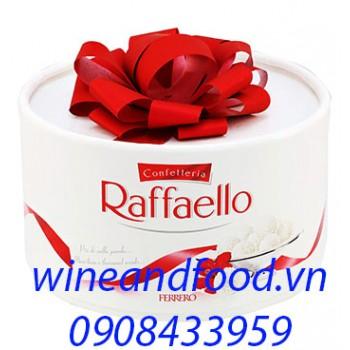 Socola dừa Confetteria Raffaello Ferrero nơ đỏ 100g