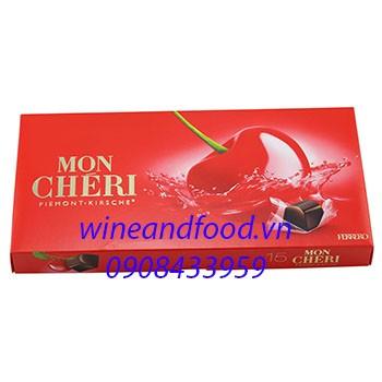 Socola nhân rượu Mon Chéri Ferrero 157g