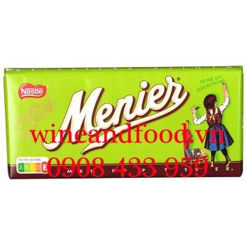 Socola Menier Nestlé thanh 200g