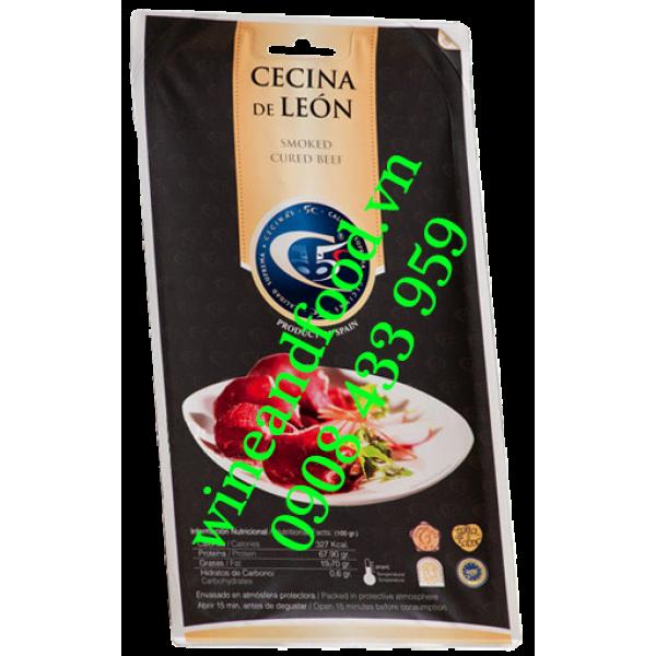 Đùi bò muối Cecinas Nieto Premium Reserva 15 tháng 100g