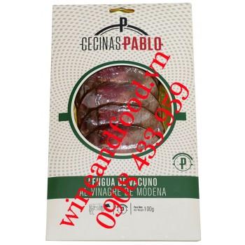 Lưỡi bò với giấm balsamic Cecinas Pablo 100g