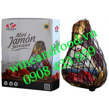 Thịt heo muối TBN Mini Jamón Serrano không xương Valent 1kg