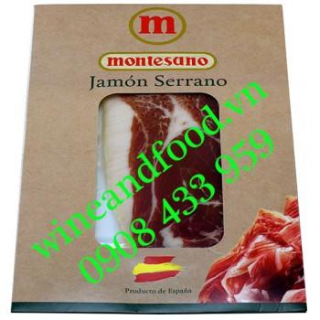 Thịt Jambon Serrano Montesano 100g