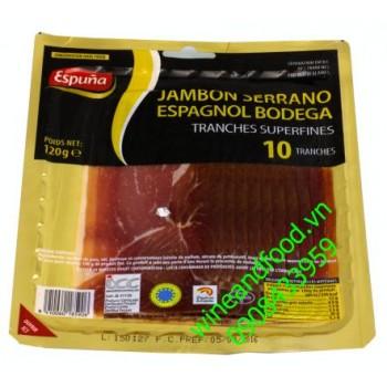 Thịt jambon Serrano 120g