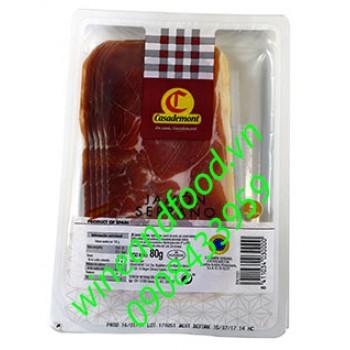 Thịt Jambon Serrano Casademont 80g