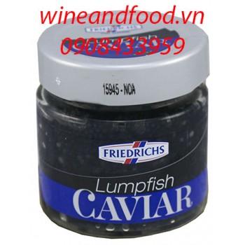 Trứng cá Caviar đen Friedrichs 100g