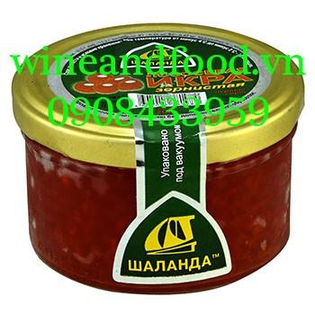 Trứng cá hồi Nga Vitjaz 200g