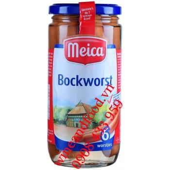 Xúc xích Đức Bockworst Meica hũ 380g