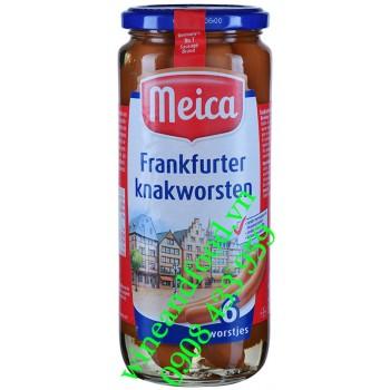 Xúc xích Đức Frankfurter Knakworsten Meica hũ 540g