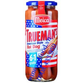 Xúc xích Đức Trueman's American Style Meica 540g