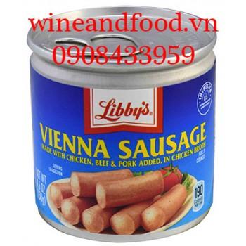Xúc xích hộp Vienna Sausage Libby's 130g