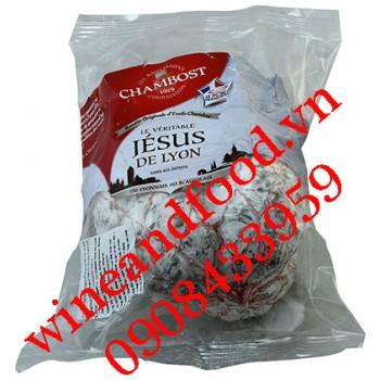 Xúc xích khô Salami (Le Saucisson sec) Jésus De Lyon Chambost 400g