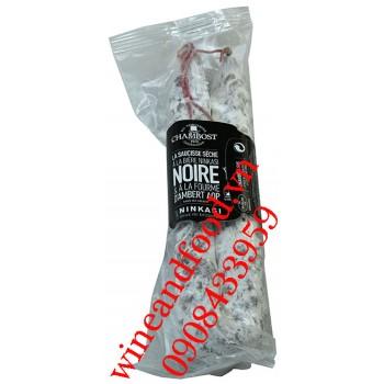 Xúc xích khô ướp bia Ninkasi Noir Chambost 250g