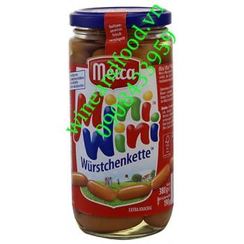 Xúc xích mini Wurstchenkette Meica 380g