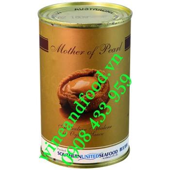 Bào Ngư tự nhiên Úc ngâm dầu Hào Mother of Pearl 425g