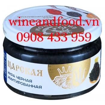 Trứng Cá Hồi Đen Royal Tsar 220g