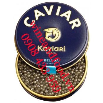 Trứng cá Tầm Beluga Imperial Caviar 100g