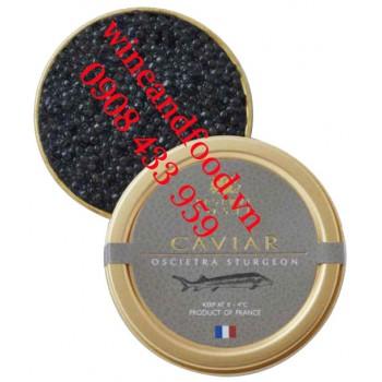 Trứng cá Tầm Caviar Oscietra Sturgeon Reserve Loste 50g