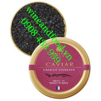 Trứng cá Tầm Caviar Siberian Sturgeon Reserve Loste 50g