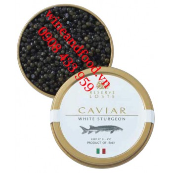 Trứng cá tầm Caviar White Sturgeon Reserve Loste 30g