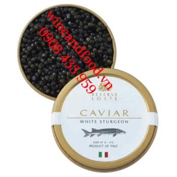 Trứng cá tầm Caviar White Sturgeon Reserve Loste 50g