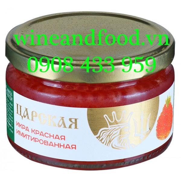 Trứng cá Tầm đỏ Caviar đặc biệt Europrom 220g