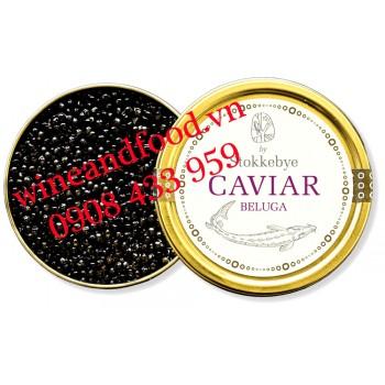 Trứng cá Tầm Stokkebye Caviar Beluga 100g
