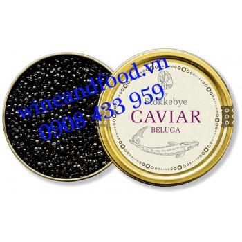 Trứng cá Tầm Stokkebye Caviar Beluga 30g