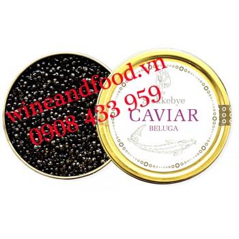 Trứng cá Tầm Stokkebye Caviar Beluga 50g