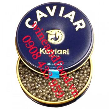 Trứng cá Tầm Beluga Imperial Caviar 50g
