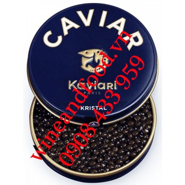 Trứng cá tầm Cristal Caviar Kaviari 125g