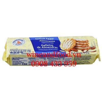 Bánh quy Hạnh Nhân Voorman không đường 227g