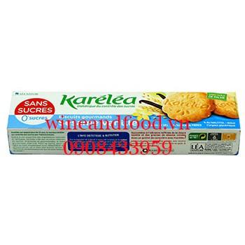 Bánh quy mè vani Karelea không đường 132g