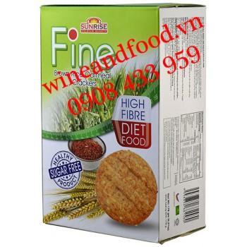 Bánh quy Fine Yến Mạch Gạo Lức không đường 178g
