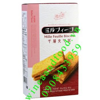 Bánh bơ ngàn lớp nhân kem Yuki & Love 100g