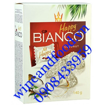 Bánh Happy Bianco Coconut 140g