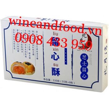Bánh ngàn lớp nhân trứng muối tan chảy Liu Xin Su 330g