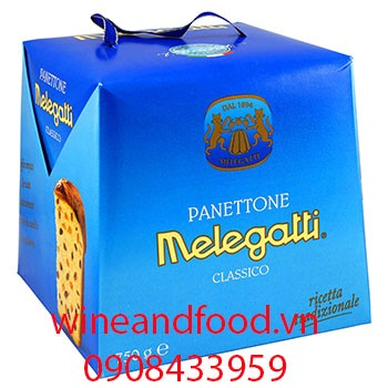 Bánh bông lan Panettone Melegatti 750g