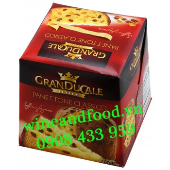 Bánh cake Giáng Sinh Granducale Panettone Classico Nho 908g
