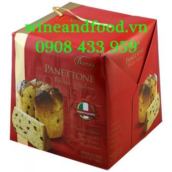 Bánh cake Giáng Sinh Panetton Baroni 900g