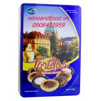 Bánh Tortitas Arcor 415g