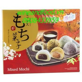Bánh Mochi hỗn hợp Yuki Love 900g