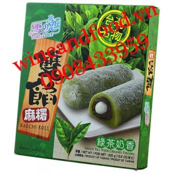 Bánh Mochi Roll Trà Xanh Yuki & Love 300g