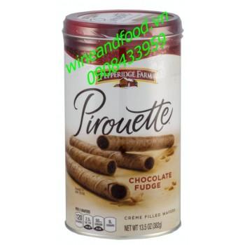 Bánh ống quế Pepperidge Farm chocolate Fudge 382g